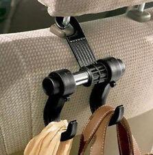 New Boutique Convenient Double Hangers Auto Car Seat Headrest Bag Hook Holder