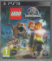 LEGO Jurassic World PS3 Sony PlayStation 3 Brand New Factory Sealed