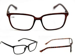 Reading Glasses High Quality Mens Womans All Metal Spring Hinges 3 Colours DX1