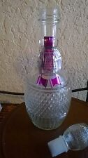 Vintage Mogen David Concord Wine Decanter - Empty - 12 inches tall with stopper