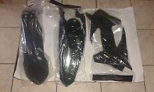 KIT PLASTICHE KTM SXF 250 350 450 2013 2014 2015 KIT 3 PZ COLORE NERO