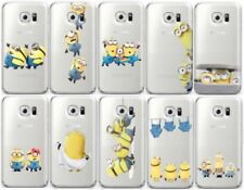 Minions Silicone/Gel/Rubber Cases & Covers for Samsung