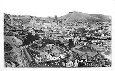 Gold Hill Nv Bird'S-Eye View Reprint Photo 1875 View P/C
