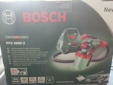 BOSCH PFS-3000-2 FineSPRAYER  650W NEW NEVER OUT OF BOX PLUS SPARE NEW RESERVOIR