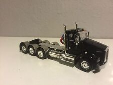 NEW BLACK DCP 1/64 KENWORTH T800 TRIP AXLE DAY CAB ALL DUALS