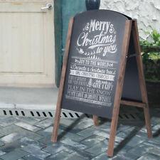 A-Board Wooden Frame Pavement Sign Chalkboard Cafe Shop Pub Board Liquid Chalk