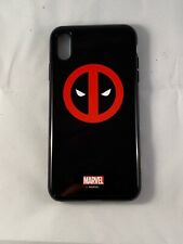 Marvel Deadpool iPhone XS Max Pro Case - Deadpool Logo Black