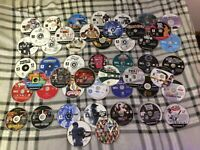 Large Lot of 49 AS IS Scratched Damaged Untested Video Games - PS2, Xbox, Wii,PC