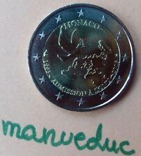 manueduc   MONACO 2 euros 2013  20 AÑOS DE ADMISION A LA ONU  NUEVOS