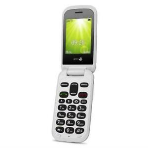Doro 2404 6.1 cm 100 g Black White Feature Mobile phone CHEAPEST ON EBAY