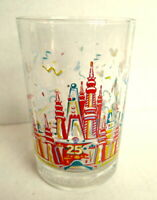 Walt Disney World 25th Anniversary Remember the Magic Glass Magic Kingdom