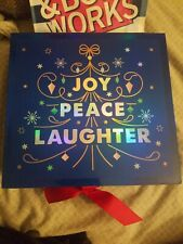 """Bath And Body """" Peaceful�, 3 Piece Gift Set, New In Box"""