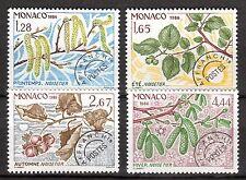 Monaco - 1986 Definitives 4 seasons - Mi. 1740-43 MNH