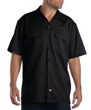 Dickies 1574 Mens Short Sleeve Button Up Work Shirt W/2 Pockets *Free US Ship*
