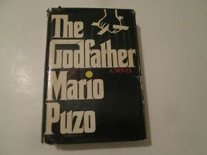 The Godfather by Mario Puzo hardcover bce book