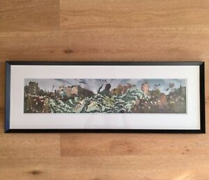 "Kozyndan ""The Flooding of the Prinsengracht"" signed/numbered/framed art print"