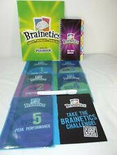 BRAINETICS MATH & MEMORY DVDS 1-5 and Playbook w/On the Move Booklet