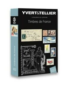 NOUVEAUTÉ /Catalogue de cotation timbres de France 2022 Tome 1  Yvert et Tellier