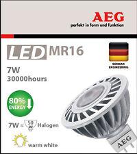 10x New GermanAEG 7W 50W LED MR16 GU5.3 450lm brighterthan Philips Master Osram