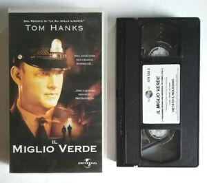 VHS Film Ita Drammatico IL MIGLIO VERDE Tom Hanks Stephen King no dvd cd (V0) °°