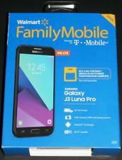 *NEW UNLOCKED* Walmart Family Mobile Samsung Galaxy J3 Luna Pro BLACK 16GB 4GLTE