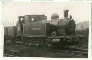 INDUSTRIAL RAILWAY POSTCARD BADDESLEY COLLIERY ATHERSTONE WARKS REAL PHOTO 1935
