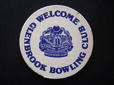 GLENBROOK BOWLING CLUB COASTER