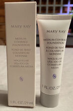 Mary Kay Medium Coverage Foundation Beige 302 Gray Cap 1 Oz. 29 mL 042004