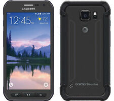Samsung Galaxy S6 Active SM-G890A 32GB (AT&T) GSM Unlocked 4G LTE Gray 9/10 AU