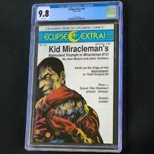 Eclipse Extra #44 (1988) 🔥 CGC 9.8 🔥 Comic News - Kid Miracleman & More!