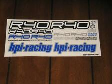 HPI Racing 9387 R40 Factory Decal Sticker Sheet Set RC H.P.I Hobby Vintage