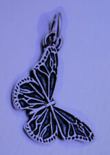 SOBRIETY HANGING BUTTERFLY PENDANT - STERLING SILVER