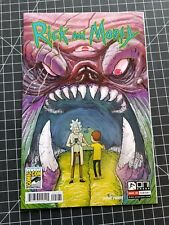 Rick and Morty 1 SDCC variant F/VF rare htf