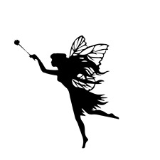 Fairy, Fairies Vinyl Decal Sticker Car Van bike vehicle