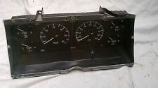 xe ford gt sports dash six instument cluster