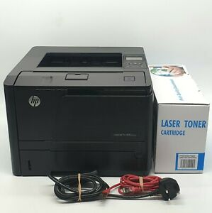 HP LaserJet Pro 400 M401dn Workgroup Black and White Home Office Laser Printer