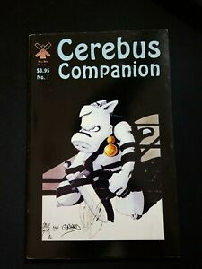Cerebus Companion #1 Signed By Dave Sim And Gerhard VF