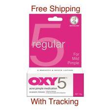 10g 0.35oz  OXY5 - MAXIMUM STRENGTH Benzoyl Peroxide Acne Pimple Medication