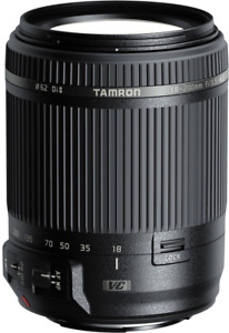 New Tamron 18-200mm f/3.5-6.3 Di II VC Lens for Canon EF B018