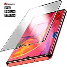 VETRO TEMPERATO per Huawei P30 / Lite / Pro CURVO 5D COPERTURA TOTALE DISPLAY