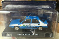 "DIE CAST "" FIAT CROMA CHT 2.0 - 1994 "" POLIZIA SCALA 1/43"