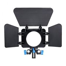 Matte Box pour 15 mm Rail Rod suppot Follow Focus Rig DSLR Caméra UK Vendeur