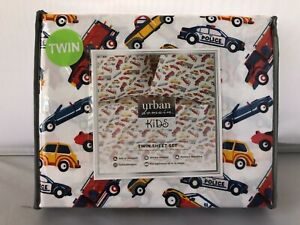 Urban Domain Kids 3-Piece Twin Sheet Set Microfiber Cars Trucks Transportation
