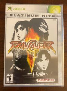 Soul Calibur II 2 Xbox Platinum Hits Brand New Sealed RARE!