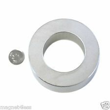 1 Strong 3 OD x 1.75 ID x1 Inch Rare Earth Neodymium Ring Magnet Grade N42