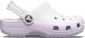 Crocs 204536 CLASSIC Kids Boys Girl Waterproof Light Clogs Sandals Lavender