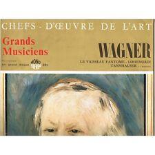 CHEFS-D'ŒUVRE de L'ART n°76 WAGNER Vaisseau Fantôme Lohengrin sans le disque 33T
