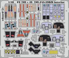 SAAB JAS-39B/D S.A. EDUARD P.E 1/48