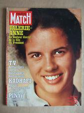 PARIS MATCH DECEMBRE 1977 N° 1491 KADHAFI. YVES SAINT MARTIN. NEW YORK LES GANGS