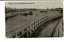 CPA - Carte postale - Belgique - Oostende - Nouvelles installations Maritimes